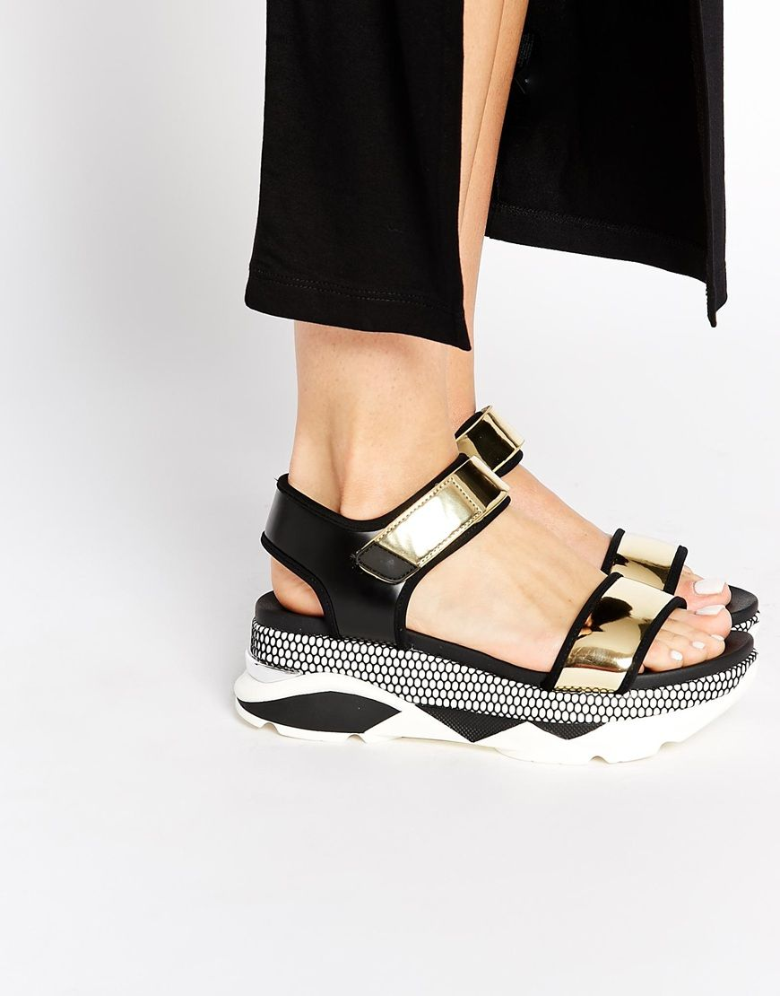 Image 1 of ALDO Zarella Active Footbed Sole Flat Sandals