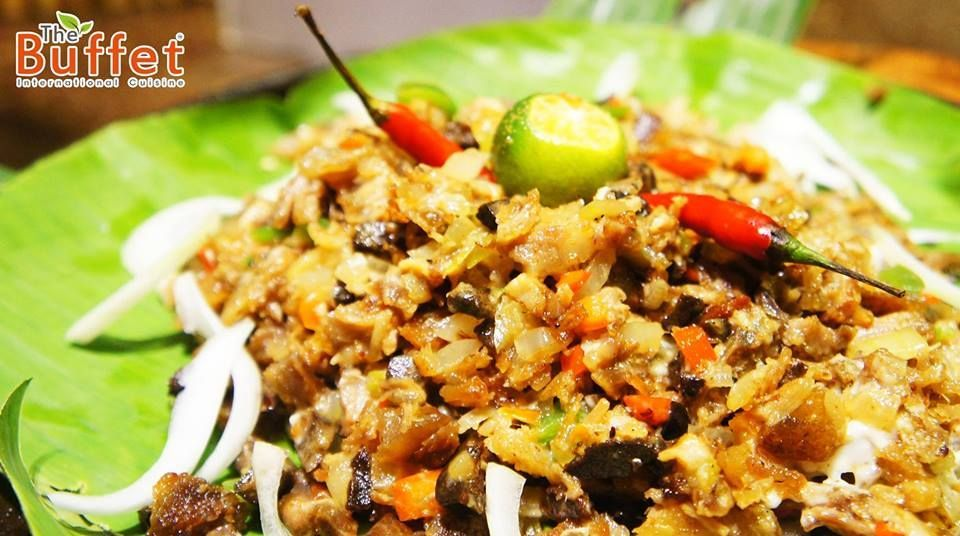 Sisig is a popular appetizer that originated from the culinary capital of the Philippines : Pampanga. This delicious dish can also be categorized as a main dish. Pork Sisig by The Buffet