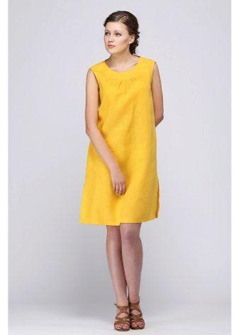 bcec1f7e8695d4b Летние платья из льна 2017 (57 фото): модные фасоны | dress | Платья ...