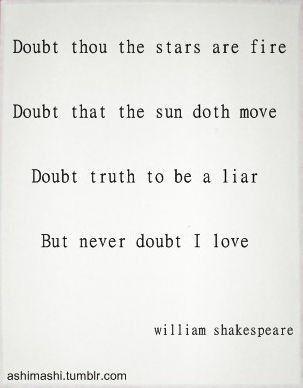 William Shakespeare: Hamlet, Act II, Scene II. Literary Love  QuotesShakespeare ...