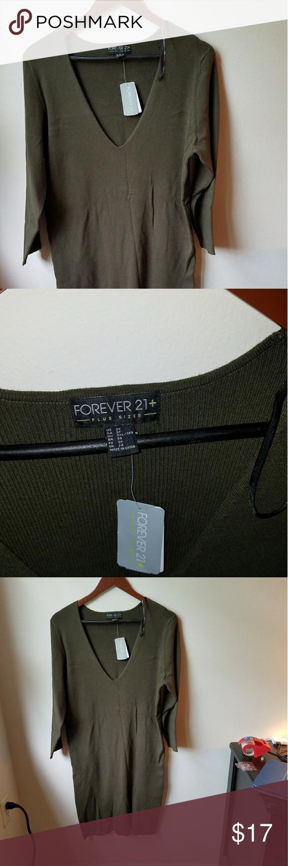 Olive green sweater dress nwt green sweater dress olive green