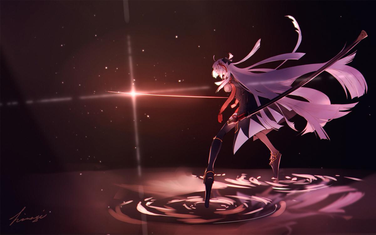 Majin Saber Fate Anime, Fate characters, Girls in love
