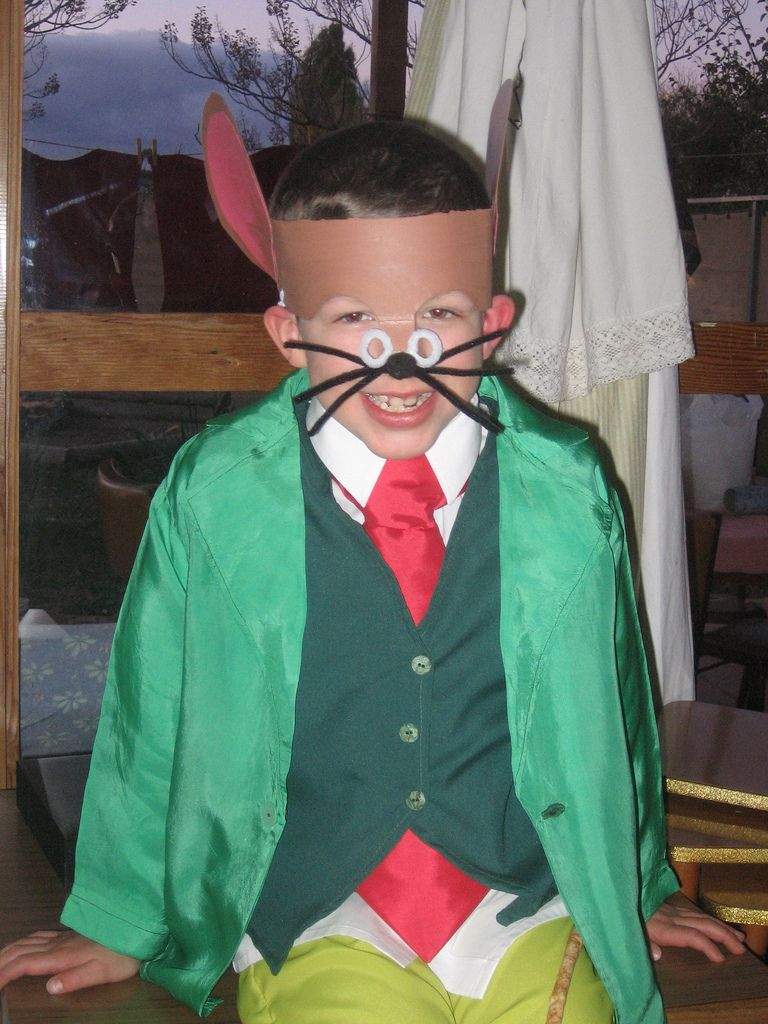 Boys Book Character Costume Ideas
