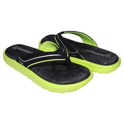 9537c297d17 Boys  Felipe Flip Flop Thong Sandals L - C9 Champion - Black Green ...