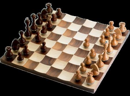 Adin mumma umbra u wobble chess set maligned design pinterest - Wobble chess set by umbra ...