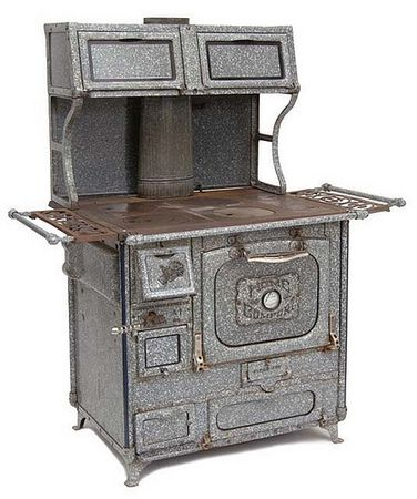 Wood Burning Stove Top Amp Oven Home Comfort Model A1 Cast