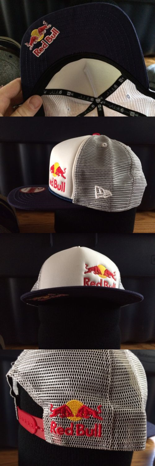 8b213b83a8577 Hats 163543  Last One. Red Bull Monster Dirt Shark New Era Athlete Snapback  Hat -  BUY IT NOW ONLY   375 on eBay!