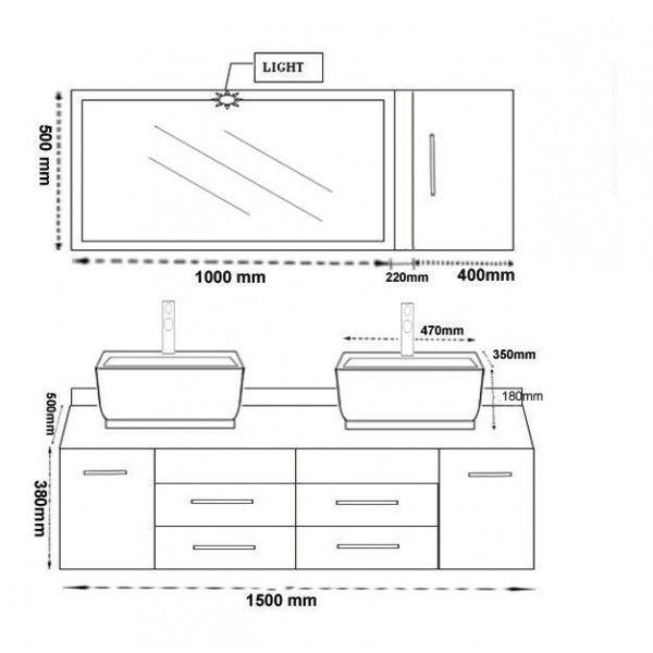 Hauteur Lavabo Salle De Bain Norme  hauteur lavabo salle de bain - plan cuisine restaurant normes