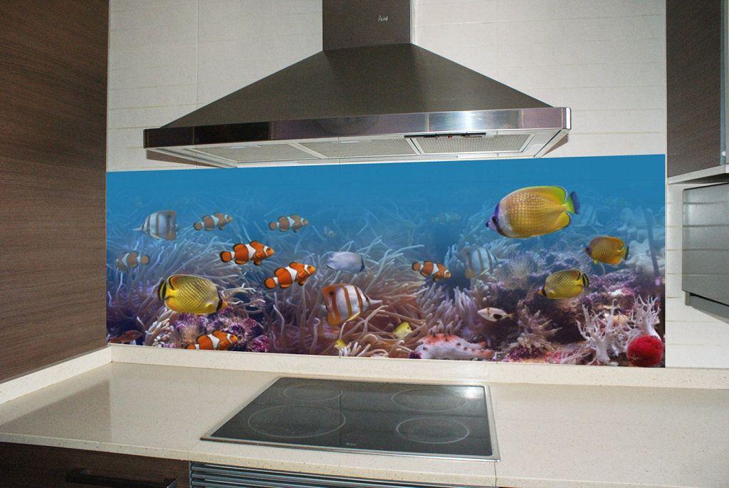 Papel mural con dise o de cocina buscar con google - Murales para cocina ...