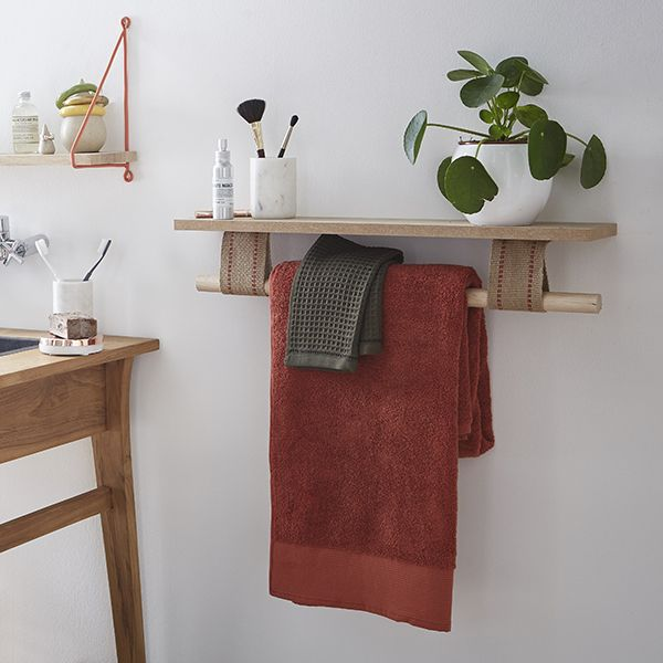 Creation Porte Serviette Zodio Serviette Creation Diy Inspiration Terrazzo Avec Images Idee Deco Meuble Deco Deco
