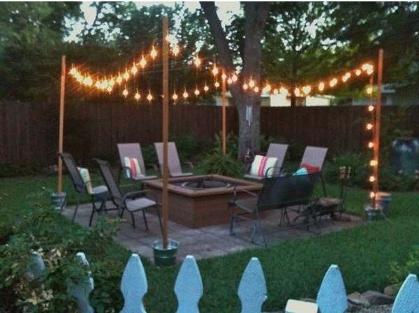 creative outdoor lighting ideas. Awesome 63 Creative Outdoor Lighting Ideas For Your Backyard  Https://toparchitecture.net Creative Outdoor Lighting Ideas T