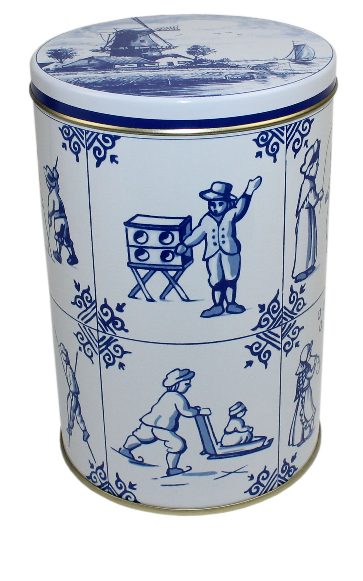 Delft Blue Can