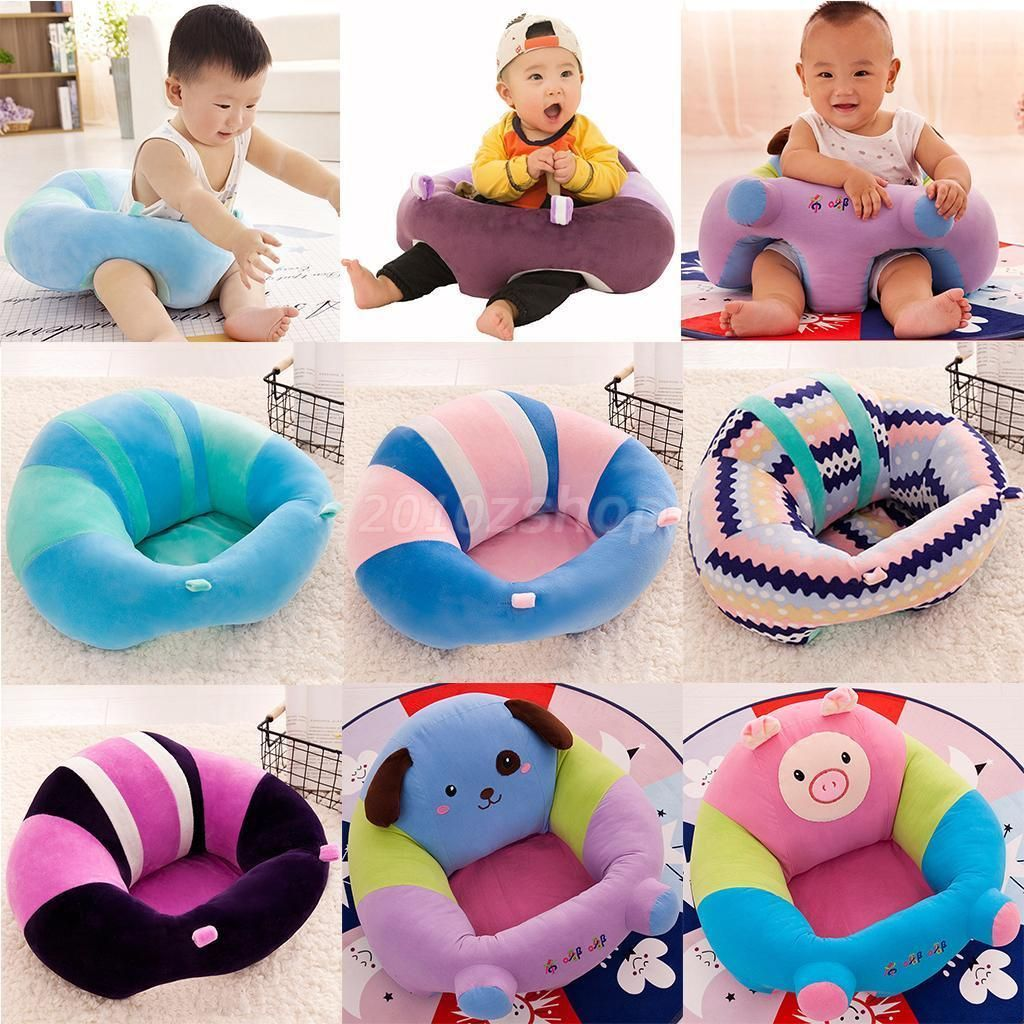 Infant Baby Support Seat Sit Up Soft Chair Cushion Sofa