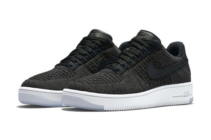 Black Low Top Nike Air Force 1 Flyknits Are Coming | Nike