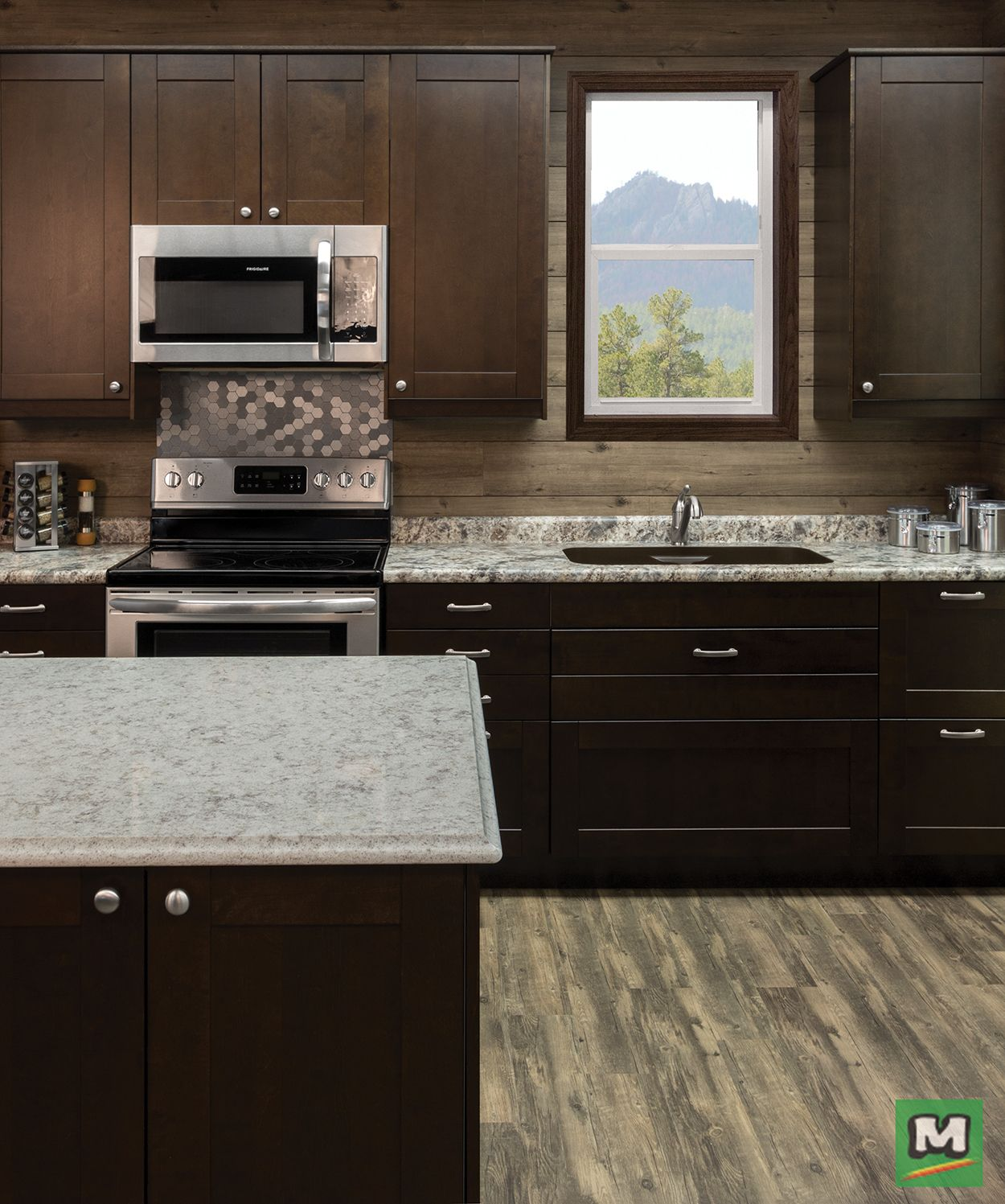 Customize Your Kitchen With Klearvue Cabinetry Complete With Full Access Cabinets The Malmo Mocha Shaker Style Door Will Kitchen Design Kitchen New Kitchen