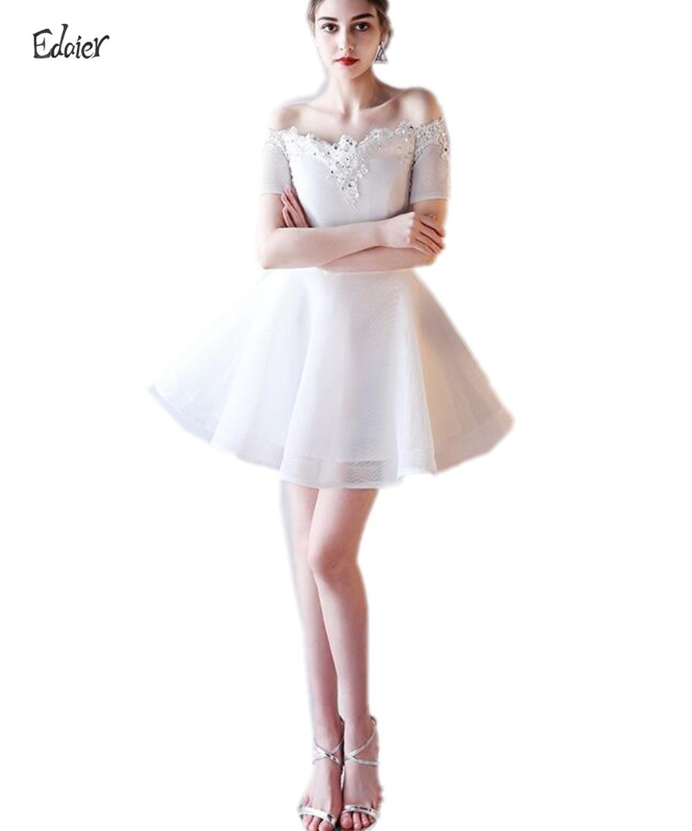 Click to buy ucuc edaier cocktail dress mini short sexy womenus