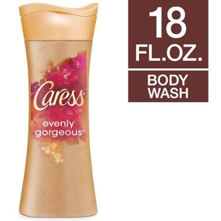 Caress Evenly Gorgeous Exfoliating Body Wash, 18 oz - Walmart.com