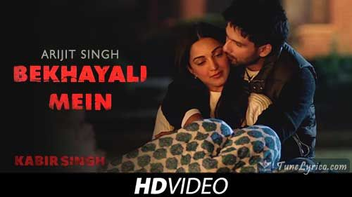 Bekhayali Is A Romantic Song From Hindi Movie Kabir Singh This