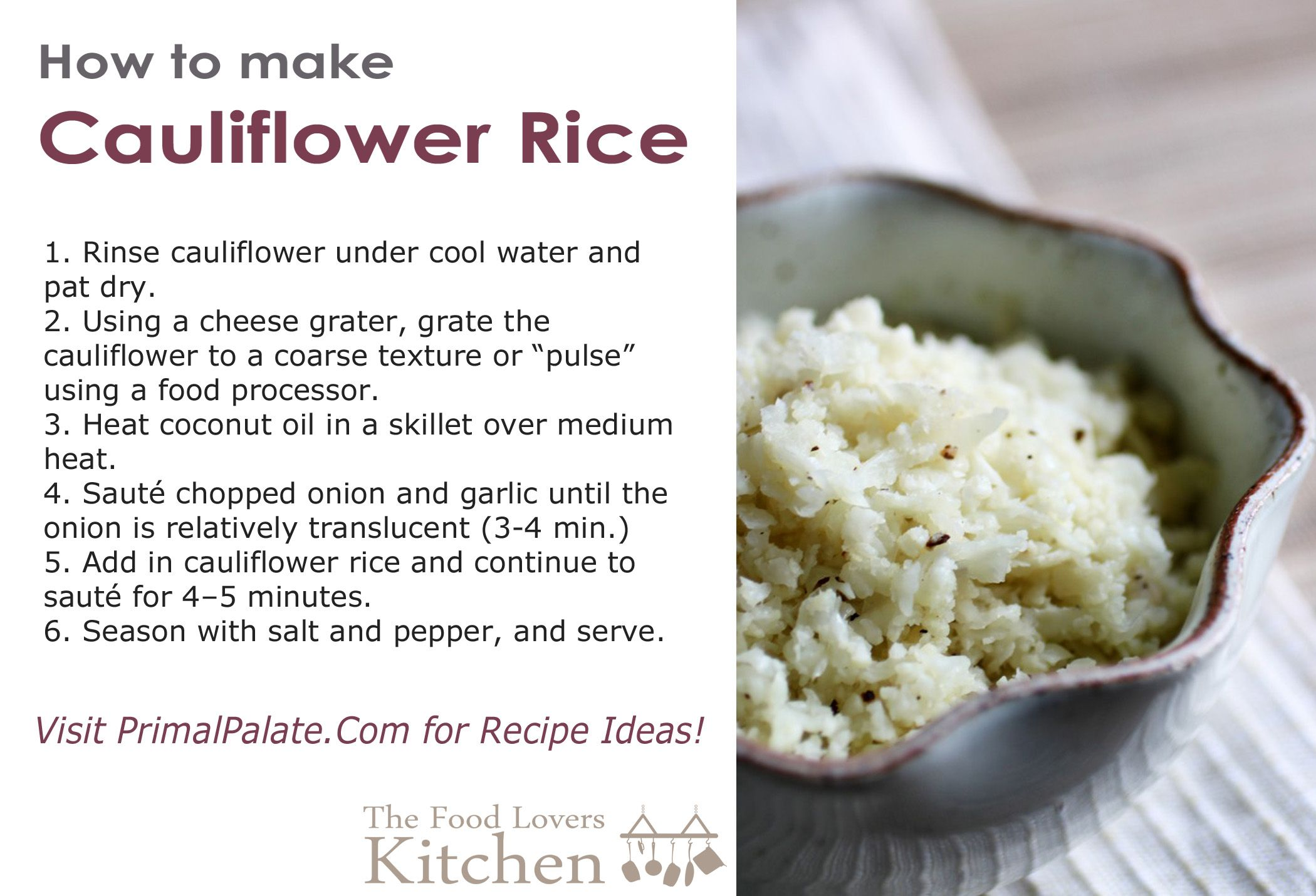can you eat cauliflower on hcg diet