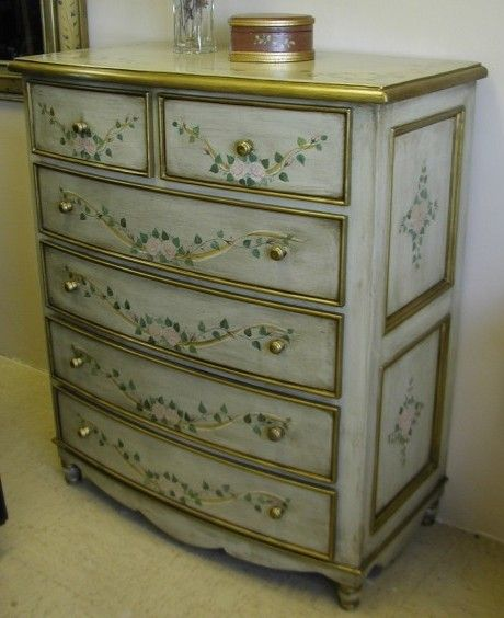Whimsical Painted Furniture Ideas | Hand painted furniture images