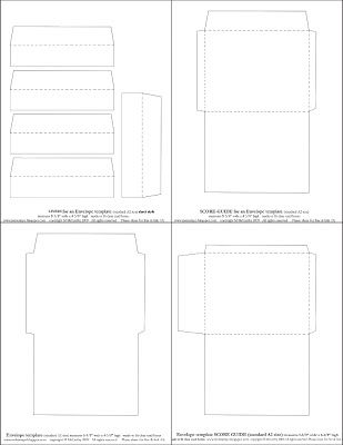 Mel Stampz Over  Envelope Templates And Tutorials  Envelope