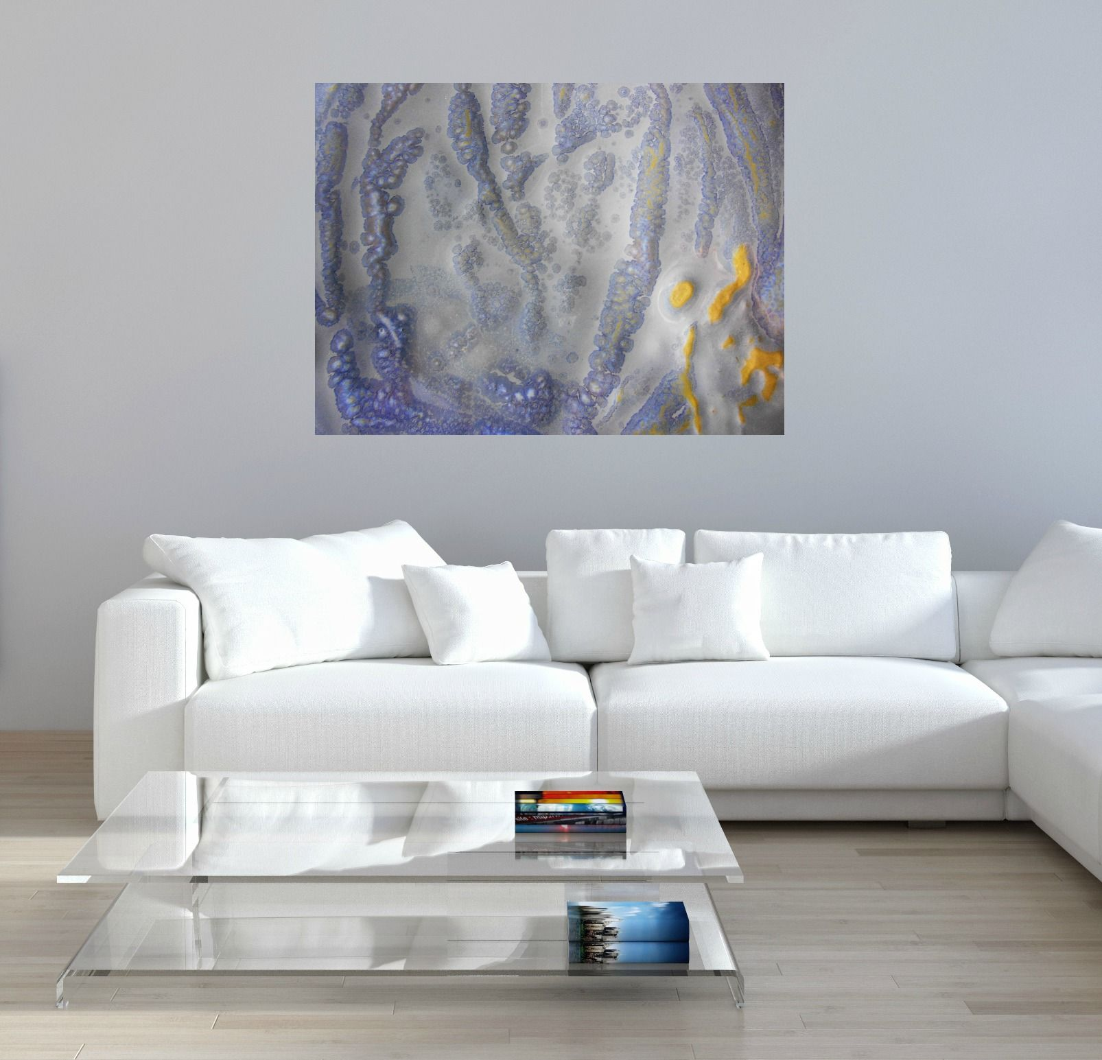 Modern Paintings For Living Room How To Make Your Beach House Beautiful With Oversized Artwork