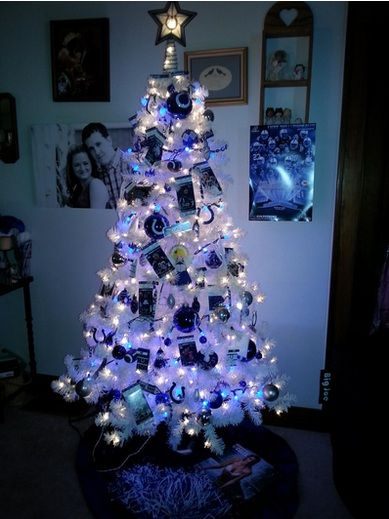 Colts Christmas Tree For Office Christmas Decorations