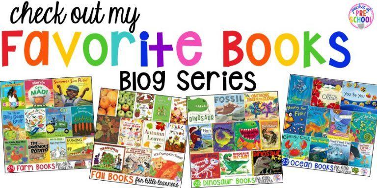 Dinosaur books for preschool prek and kindergarten