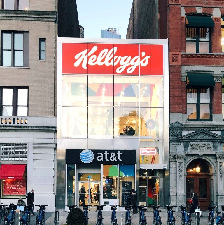Kellogg S Nyc Kid Friendly And Allergy Friendly Snack Spot Nyc With Kids Allergy Friendly Restaurants Nyc