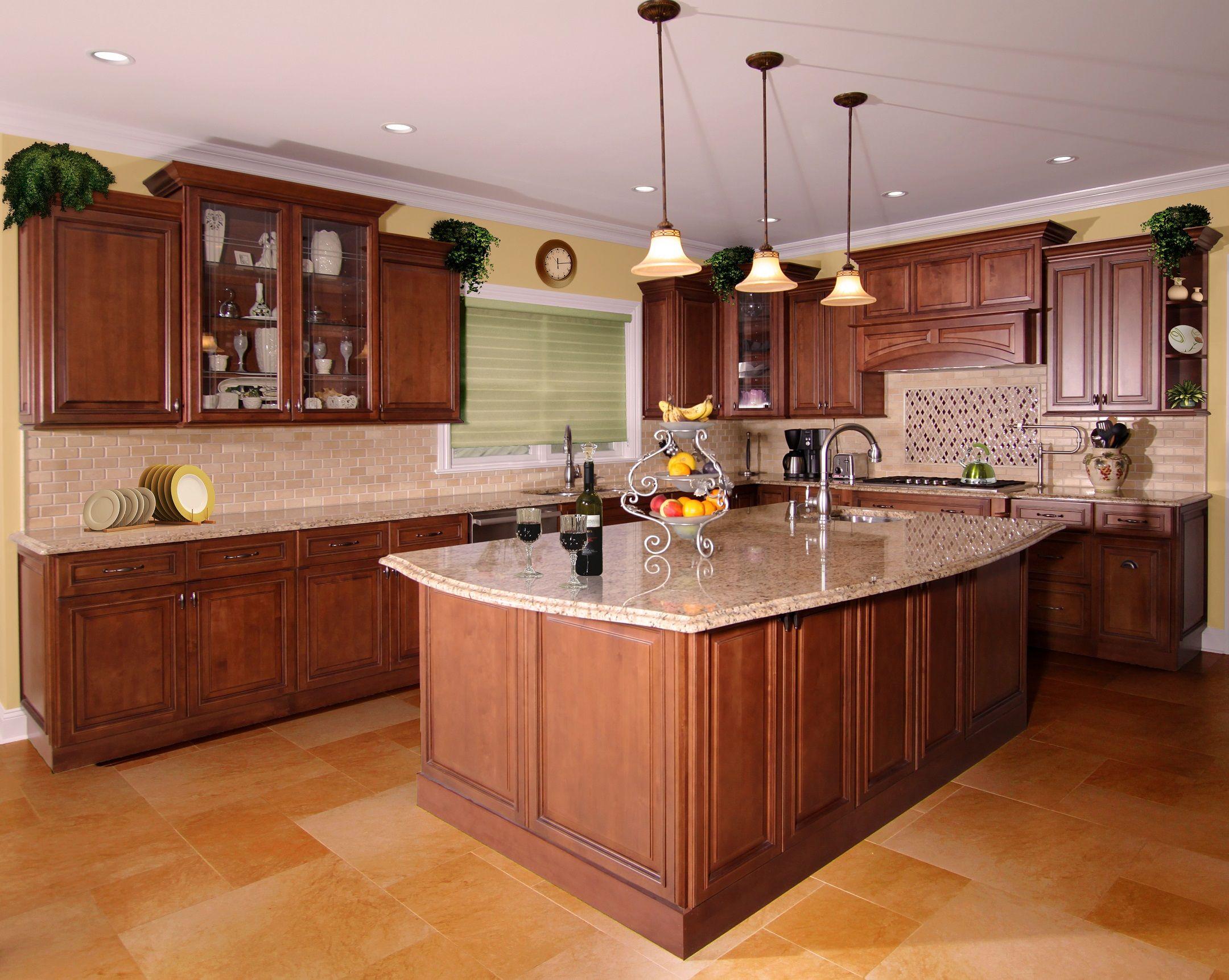 Wellington Cinnamon Kitchen Vanity Kitchen Interior Kitchen Remodel Traditional Kitchen Cabinets