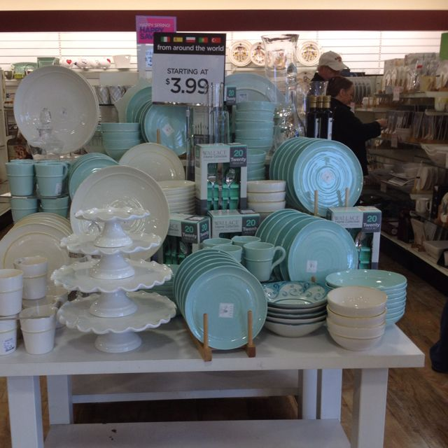 Tiffany Blue Dishes At Homegoods