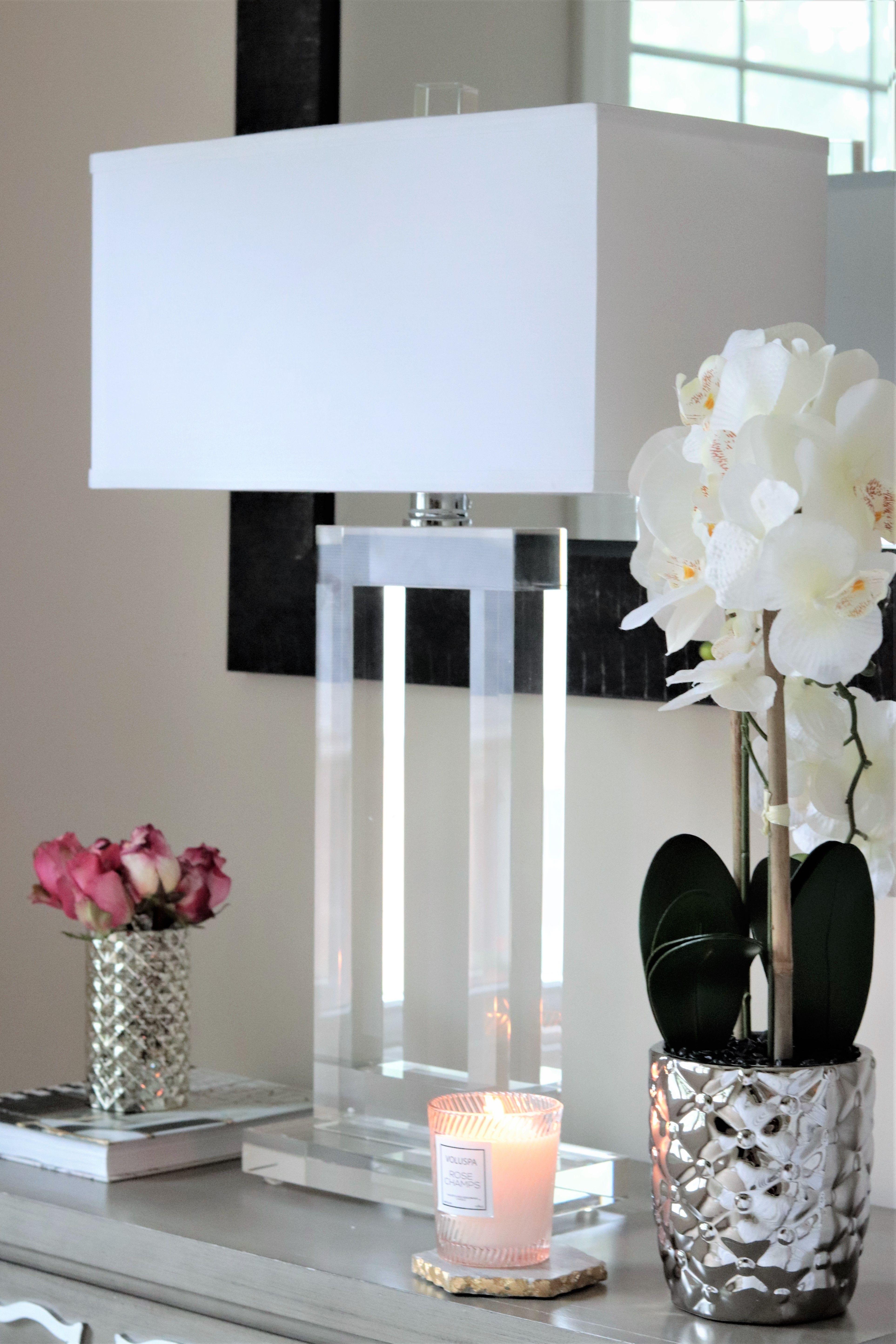 Vienna Full Spectrum Window Modern Crystal Table Lamp 3m960