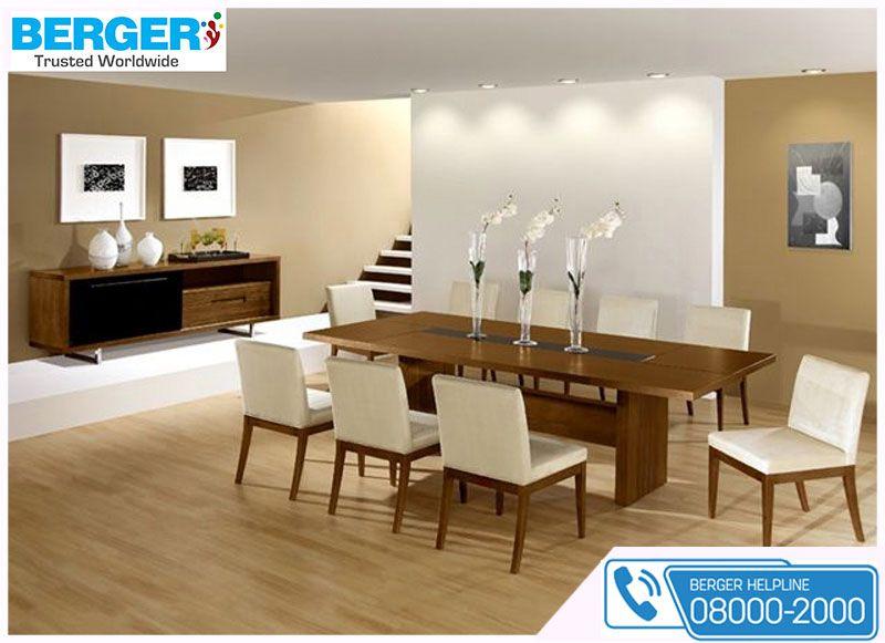 Beautify the dining room berger paints paints paint color colour