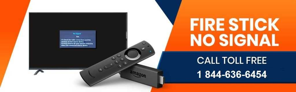 Basic troubleshooting guide amazon fire stick no signal