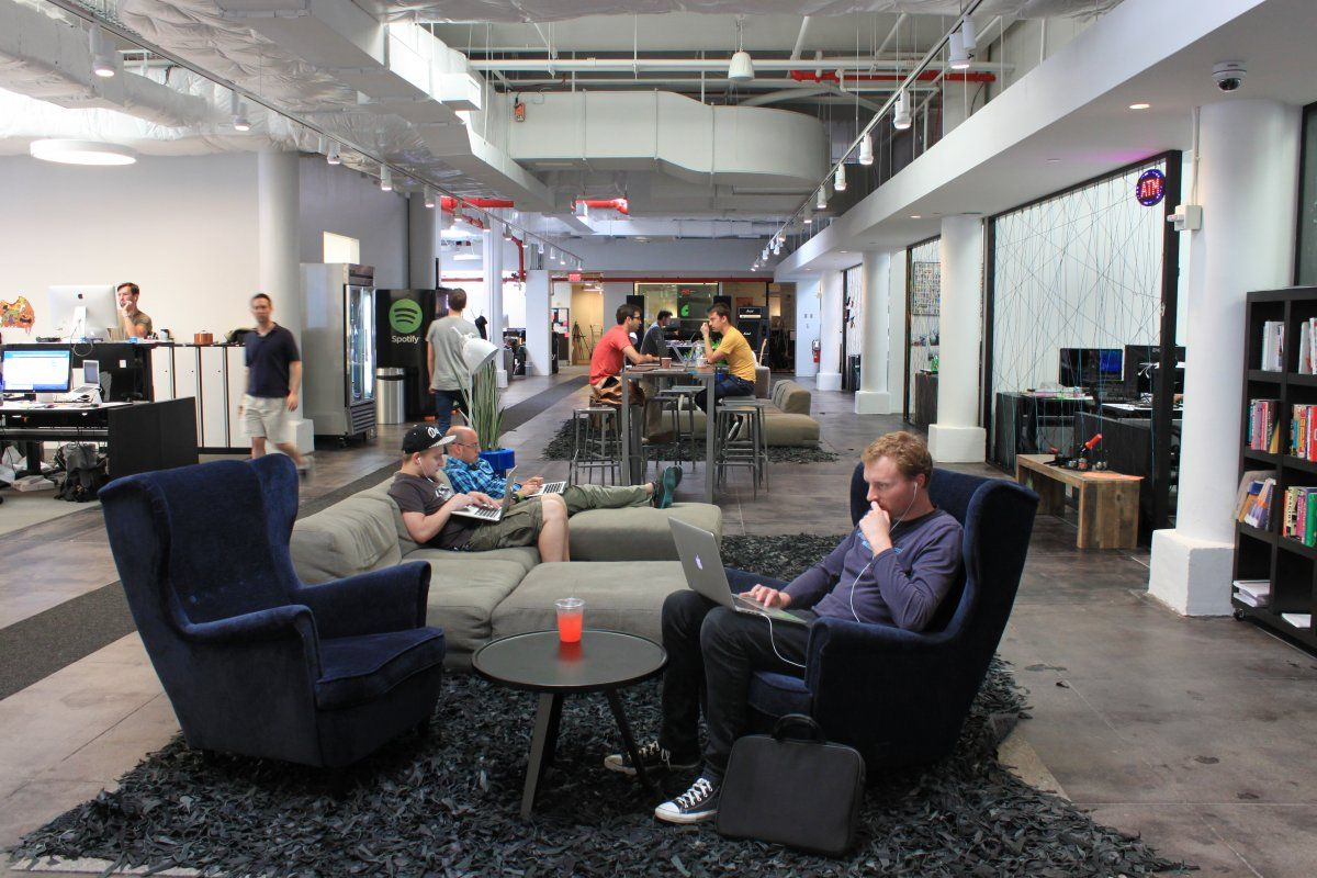spotify york office spotify. take a tour of spotifyu0027s new nyc office and their really cool graffiti art spotify york t