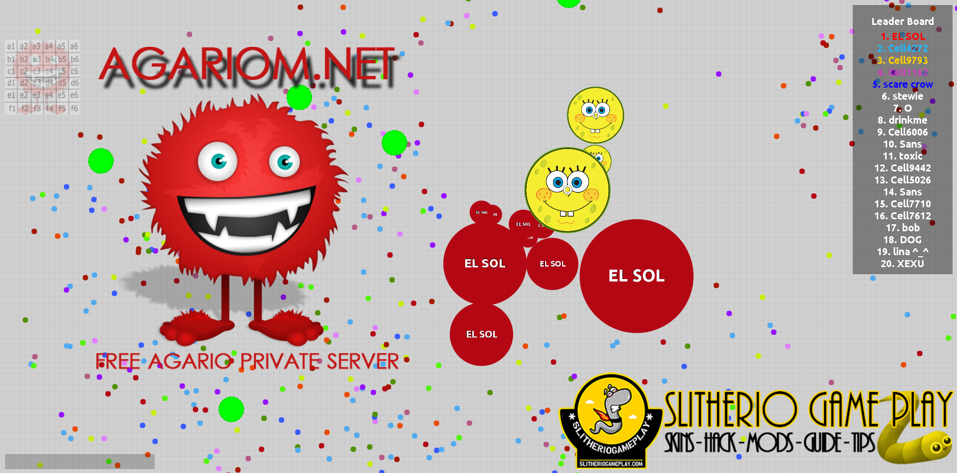 best agario private server http agariom net come and play