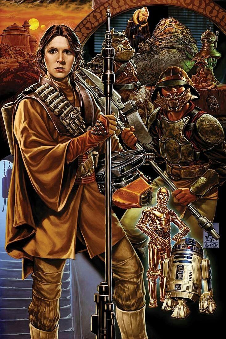 Jabba The Hutt Fucks Princess Leia Good leia organa, lando calrissian, jabba the hutt, c-3p0 and r2-d2