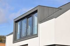 zinc clad dormer with doors i assume door will be more recessed on the proposed. Black Bedroom Furniture Sets. Home Design Ideas