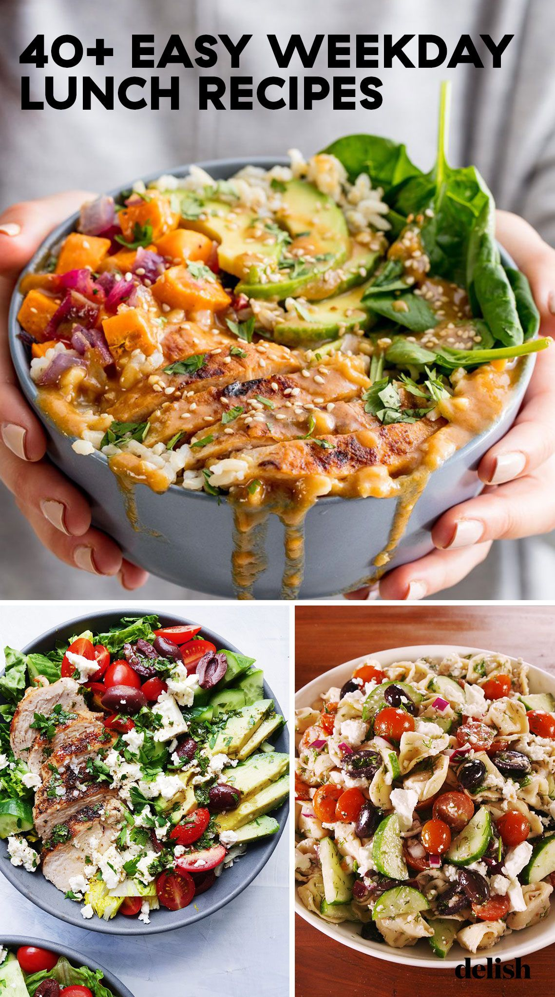 40+ Weekday Lunch Recipes images