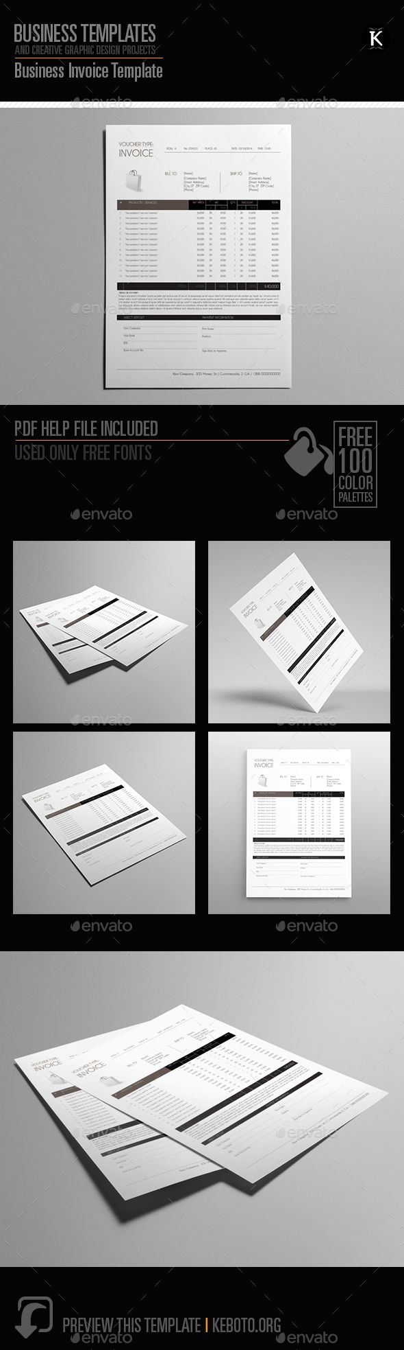 Business invoice template by keboto preview this itemherebusiness business invoice template by keboto preview this itemherebusiness invoice templatesspecifications color model cmykcompatibility yelopaper Image collections