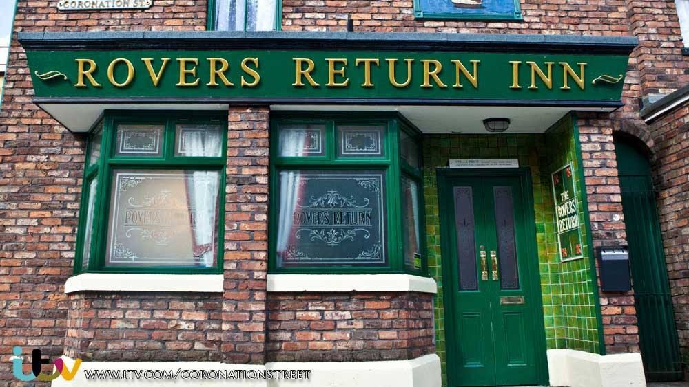 Manchester England?  From Coronation Street set........longest running soap on ITV.  Visited the set when I was a kid.  Tour cost two shillings and sixpence....or a half a crown and a lot of money back then.