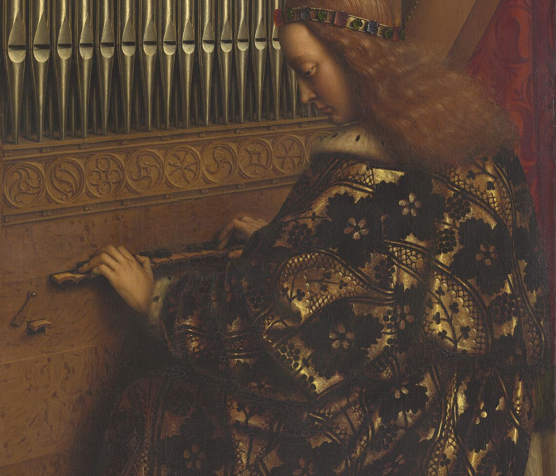 Closer to Van Eyck: It became possible to zoom into the intricate, breathtaking details of one of the most important works of art in the world, thanks to a newly completed website focused on the Ghent Altarpiece and funded by the Getty Foundation.