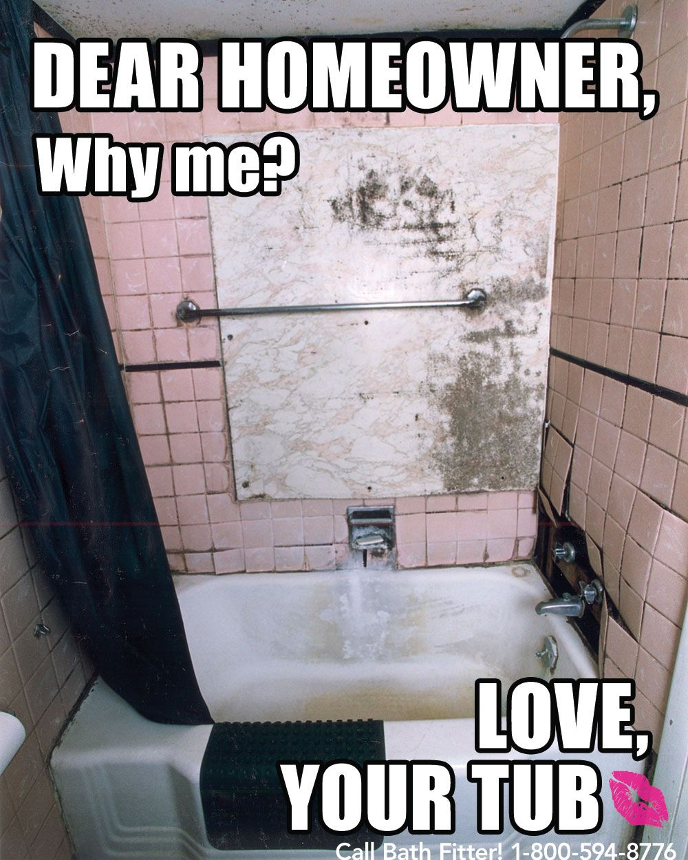 Bathroom Remodel Meme this tub just wants some love. #bathrooms #meme | if your tub