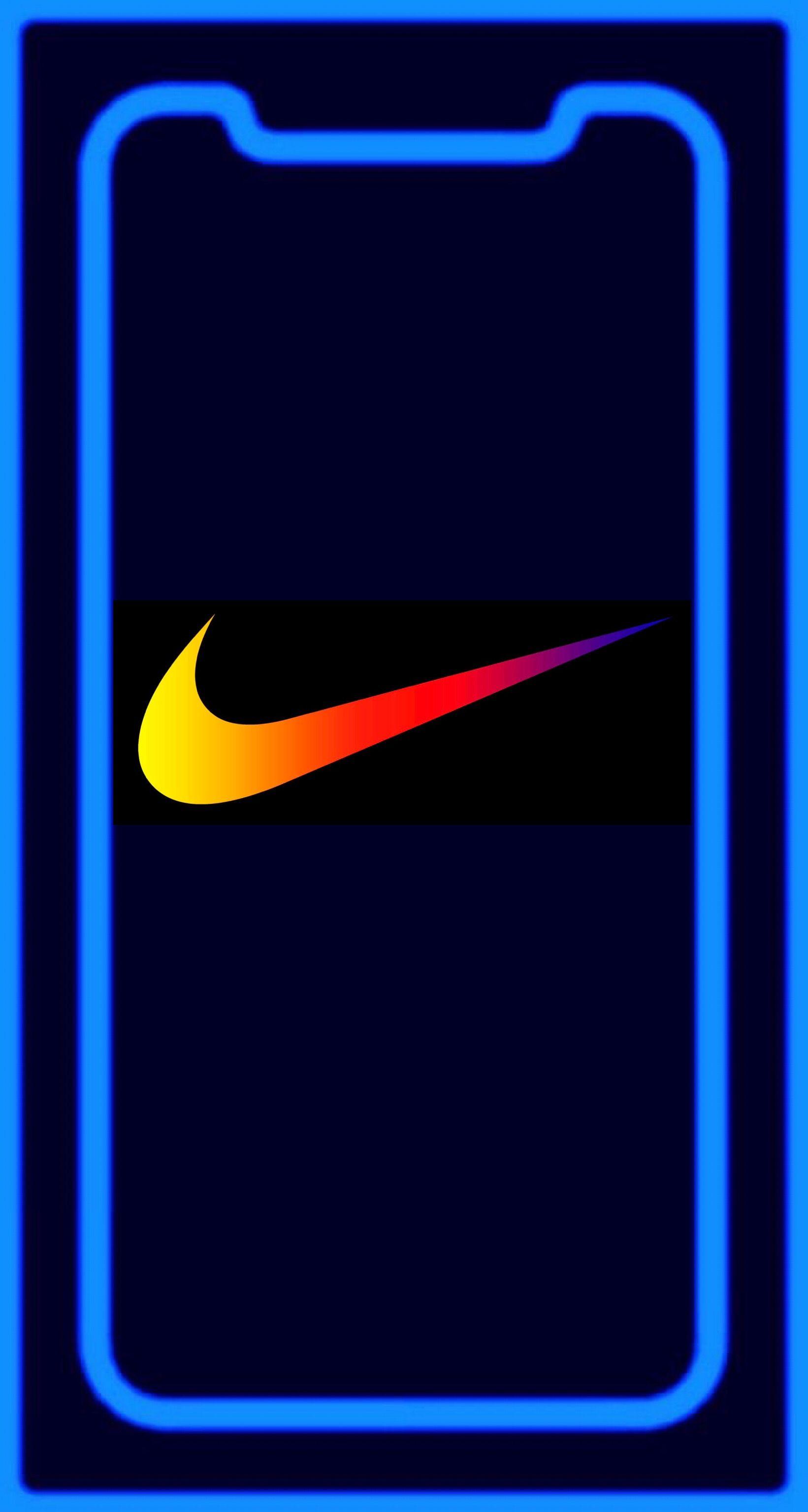 Wallpaper Iphone X Nike Colour In 2019 Apple Wallpaper