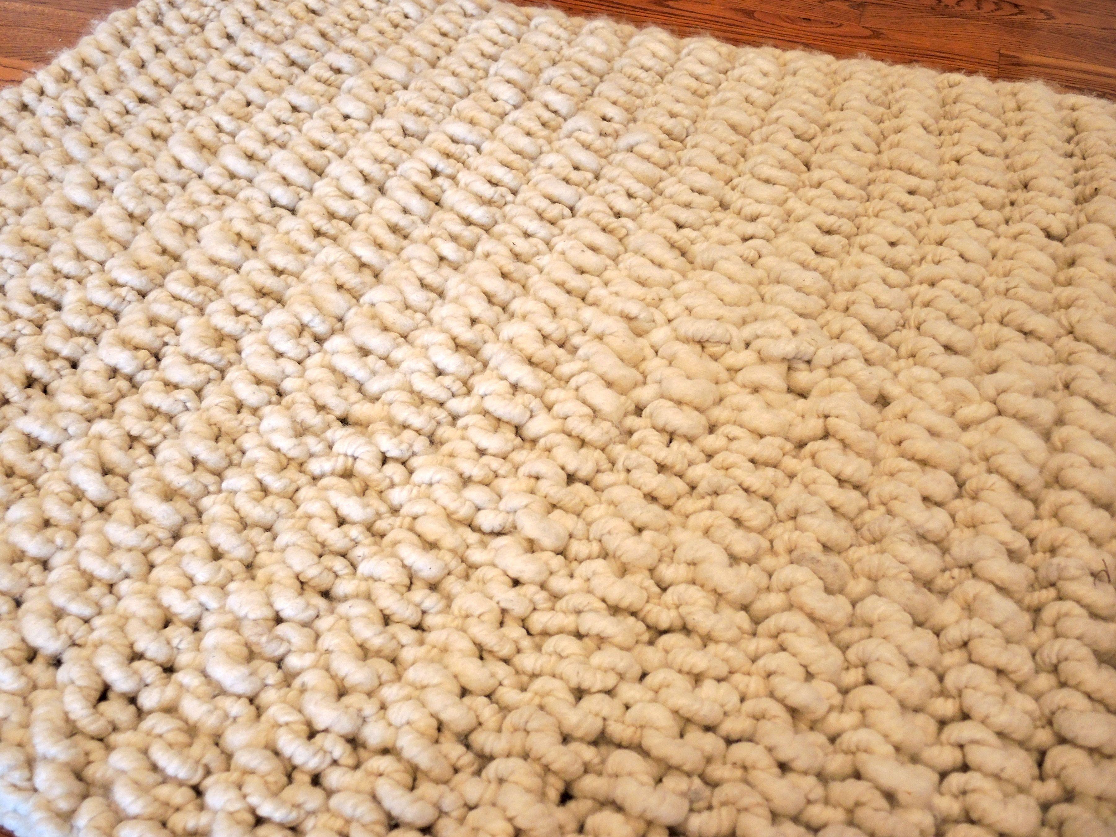 Knitting Projects With Yarn P Alpaca Rug