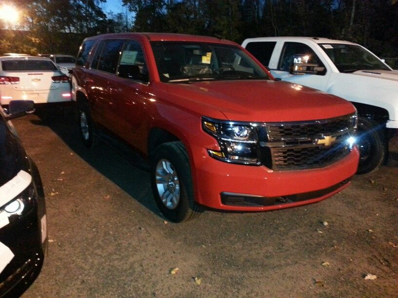 2015 Chevrolet Tahoe victory red Blazers and Tahoes