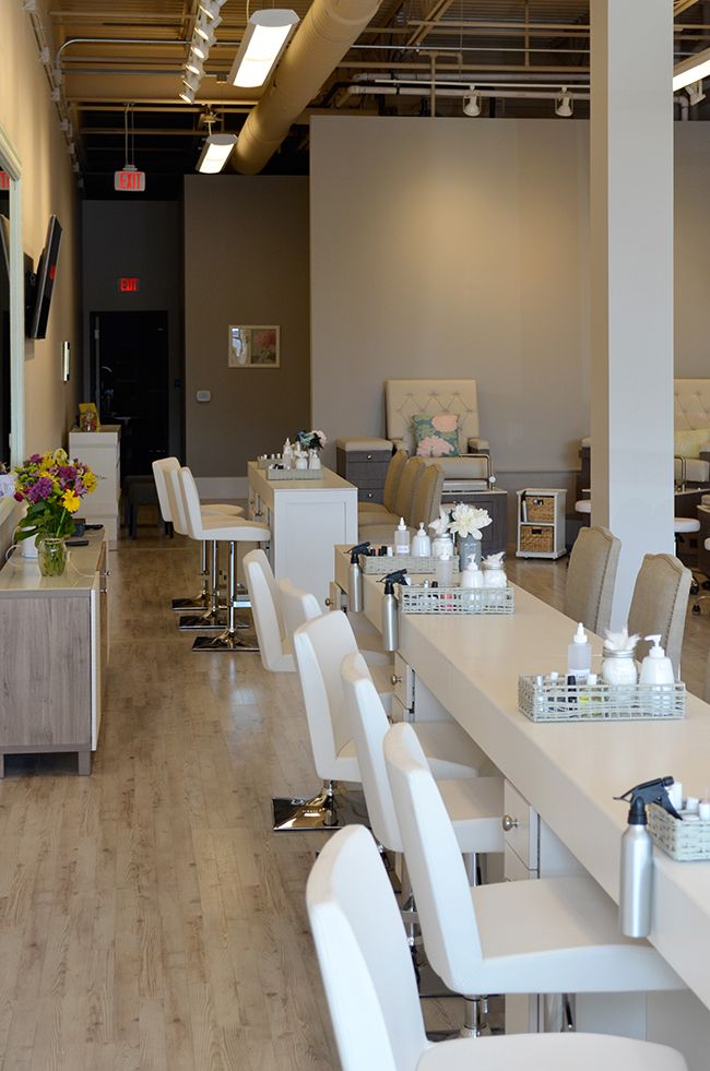 Nail salon interior fitout radnor pa spa design - Nail salon interior design photos ...