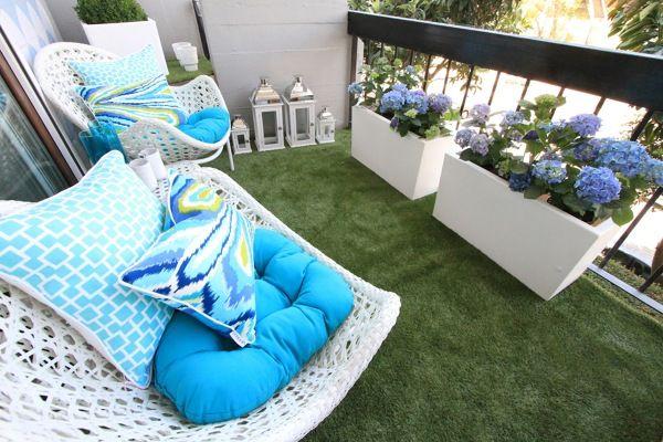 césped artificial Balcony ideas Pinterest Césped artificial