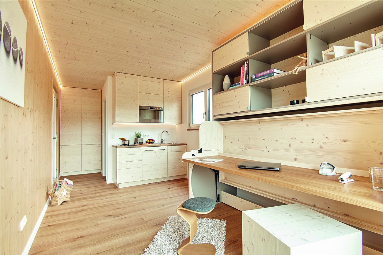 Modulhaus Design Holzhaus Als Tiny House Modulhaus House Tiny House Home