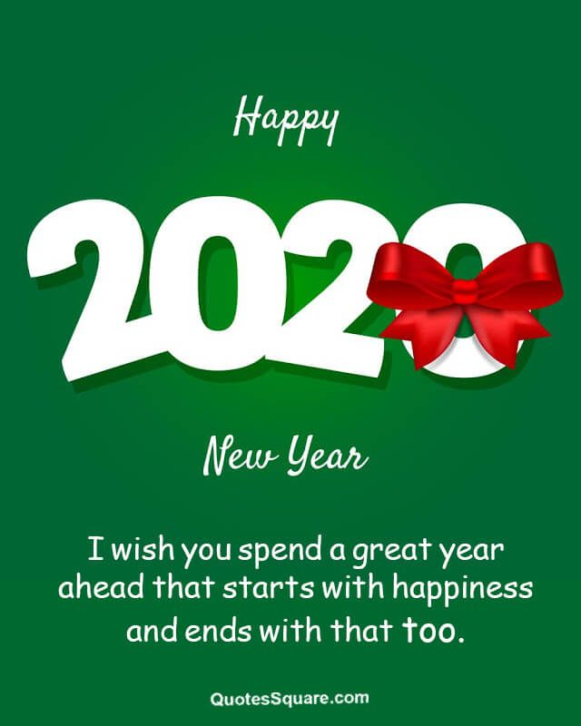 Happy New Year Cards 2020 with Images | New year wishes ...
